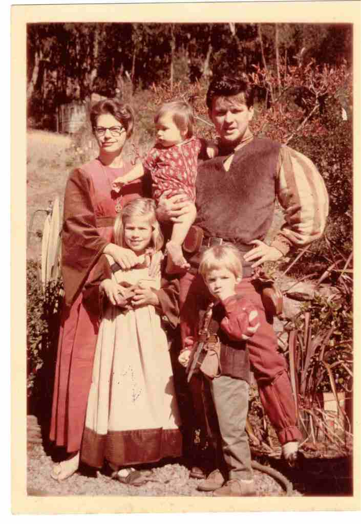 A Family Outing To Renaissance Faire 1968